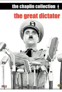 Charlie Chaplin in The Great Dictator, a Pre-WWII movie