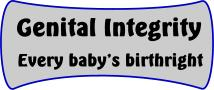 Genital integrity: Every baby's birthright